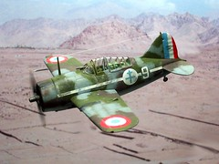 1:72 Brewster B-339B 'Buffalo', aircraft '9' of Groupe de Combat Mixte 1, Free French Air Force (Forces Aériennes Françaises Libres, FAFL); Morocco, 1941 (Whif/Hobby Boss kit conversion) (dizzyfugu) Tags: africa boss plane de french 1 buffalo force conversion aviation air north version free hobby torch morocco fantasy kit brewster combat groupe modell bau forces export fictional whatif mixte libres whif aériennes françaises fafl dizzyfugu b339b