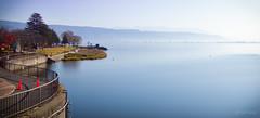 Suwa Lake, Suwa-shi, Nagano-ken, Japan.