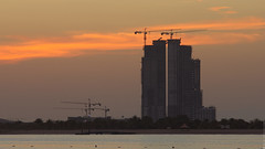 Sunset (engine9.ru) Tags: sky sun buildings abudhabi abu dhabi koyaanisqatsi