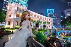 Bella Notte (Ateens Chen) Tags: city light portrait people building hongkong nikon nightscape bokeh dd volks ateens dollfiedream d700 flickrhongkong 森川由綺 morikawayuki flickrhkma