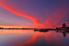 Merry Christmas (< Nick Friend >) Tags: sunset sky water clouds merrychristmas forster xmarksthespot forsternsw greatlakesnsw