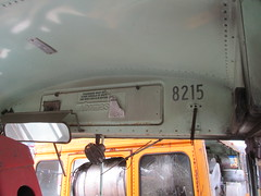 National School Bus Service #8215 (2) (ThoseGuys119) Tags: old newyork rotting junk shed storage historic schoolbus damaged retired scrap conventional defunct laidlaw thomasbuilt firststudent fordb700 nationalschoolbusserviceinc nochassis