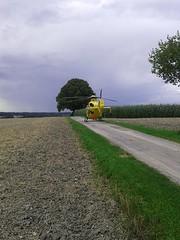 scheiß Navi...! (QQ Vespa) Tags: rth rettungshubschrauber christoph navi helicopter adac luftrettung searchandrescue