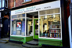 carraig (Mark Waldron) Tags: ireland dublin shop book nikon maps 28mm books front prints nikkorh antiquarian blackrock bookseller f35 d600 kogaku carraig
