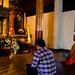 Les reproductions grandeur nature sont très communes dans les monastères thaïs. Wat Chedi Luang, Chiang Mai