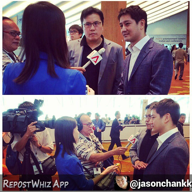 By @jasonchankk via @RepostWhiz app: Interviewed by Channel News Asia about #perfectgirlseries catch our interview tonight on CNA. www.perfectgirlseries.com (#RepostWhiz app)