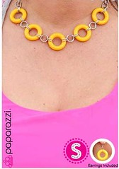Sunset Sightings Yellow Necklace K2A P2911A-1
