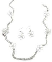 5th Avenue Silver Necklace P2210A-4