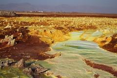 Dallol (Akhal-Tk) Tags: africa white hot yellow landscape salt springs sulphur geyser ethiopia scarce afar gases danakil dalol dallol sufphuric