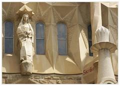 Sagrada Familia 70 (ferran pestaña) Tags: sagradafamilia gaud josepmariasubirachs ibarcelona fachadadelapasión