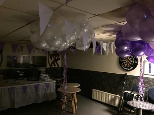 Heliumballonnen Cafe De Stable Rotterdam