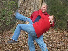 christmashaul (babyfella2007) Tags: christmas family winter boy red portrait woman playing man tree sc nature face leaves forest garden carson daddy dead fun outside climb hall woods funny gun dad child grant south mommy father mary young mother michelle husband son jeremy southern climbing taylor lou carolina wife shoulders beaufort memaw carrying lifting 2014