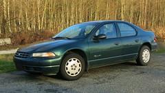 Plymouth Breeze 4-door sedan (Custom_Cab) Tags: door canada green car sedan 2000 4 1996 plymouth canadian 1999 dodge 1997 1998 chrysler breeze stratus cirrus 4door