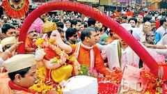 Kasba-Peth-Ganpati (narendrazechao) Tags: dance bappa streetperformance moraya visarjanrituals