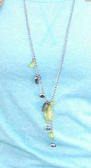 Sunset Sightings Yellow Necklace K1 P2910-5