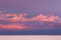 Beautiful sunset cloud (hanbaophillip) Tags: sunset cloud newmexico skyline landscape nationalpark twilight roadtrip  whitesand     skylovers