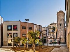 Torre del Palau, Terrassa (E) (Panoramyx) Tags: panorama espaa tower spain torre tour catalonia panoramica turm espagne hdr catalua spanien spagna terrassa espanya katalonien catalogne vallsoccidental vallsoccidental catalugna torredelpalau