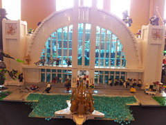 Hall of Justice (Frost Bricks) Tags: hall justice lego superhero
