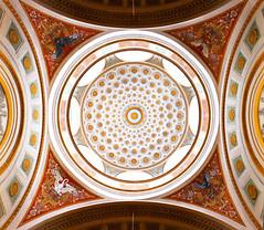 The Dome (samikahkonen) Tags: city urban window architecture suomi finland helsinki europe arch library north decoration ceiling dome nordic scandinavia scape