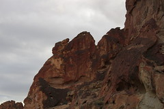 Seeing-eye rock (rozoneill) Tags: lake oregon river carlton butte desert hiking painted canyon vale trail backpacking saddle blm uplands owyhee honeycombs
