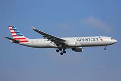 N278AY Airbus A330-323X American Heathrow 14th March 2016 (michael_hibbins) Tags: