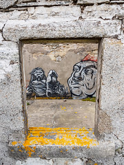 Moine House (Highlandscape) Tags: house building art tongue graffiti scotland highlands cottage ruin places olympus structure highland caithness markii moine em5 moinehouse httphighlandscapezenfoliocom olympusem5markii