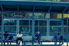"""Perfect Distance"" Trenton, NJ (mindtraveler26) Tags: city people glass canon newjersey flickr seat nj streetphotography symmetry busstop process trenton meltingpot lightroom capitalcity flickrbest flickrstreet"
