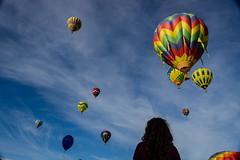 Amazed (AnuragJajoo17) Tags: california sky girl colorful sonoma balloon sunny napa hotairballoon curlyhair amazed