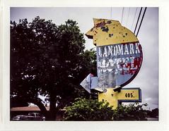 Landmark (engjoneer) Tags: urban film sign type polaroid250 fp100c