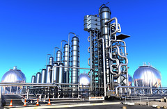Plant (otoxunghe) Tags: plant building industry metal modern work 3d energy industrial factory technology steel smoke pipes engine engineering science ukraine structure storage gas business research pollution oil production environment products warming fuel emission distill manufacturing pollute