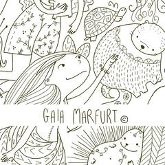doodlegirl2 (Gaia Marfurt) Tags: doodle patterndesign artlicensing