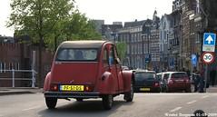 Citron 2CV 1986 (XBXG) Tags: auto old france holland classic haarlem netherlands spaarne car vintage french automobile nederland citron voiture 2cv frankrijk 1986 paysbas eend geit ancienne 2pk 2cv6 citron2cv franaise deuche deudeuche pf51ds