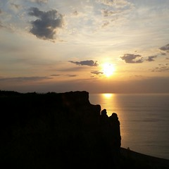 Scarborough (ossington) Tags: sky cliff toronto sunrise happy shoreline sunny cliffs vista bliss skylovers