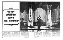 Vacationland Fall 1965 04-05 - Great Moments With Mr. Lincoln (Tom Simpson) Tags: vintage disneyland disney 1960s vacationland 1965 vintagedisneyland vintagedisney greatmomentswithmrlincoln