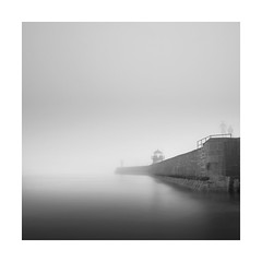 Ghosts in the gloom (Nick green2012) Tags: st long exposure cornwall lighthouses ghosts ives