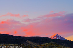 Iceland Day 1: Alpenglow Sunset (wanderingYew2) Tags: sunset evening iceland alpenglow fujixpro2