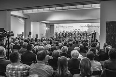 Concert of Carinthia Cantat (nacfoto photography) Tags: people blackandwhite bw choir concert anniversary crowd event slovenia reportage gradec 20years obletnica slovenj 20let