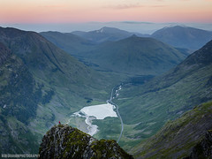 The Chancellor (RobGrahamPhotography) Tags: morning mountain mountains canon landscape person dawn scotland landscapes highlands britain outdoor glen ridge chancellor glencoe pinnacle aonacheagach canon6d