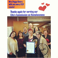 """Peggy Rivera will retire on serving the City's Commission on Homelessness. """"Thank you for everything you did and for all that you stood for.#ox #ventura #news #homeless #medias #flynn #followme @angel_rshine @san_francisco_art_exchange @edith_jazz @djmamb (darlene61miller) Tags: square squareformat rise iphoneography instagramapp uploaded:by=instagram"""