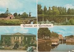 Ansichtkaart Groeten uit Gorinchem (Barry van Baalen) Tags: haven holland architecture gate harbour postcard huis alblasserwaard ansicht gorinchem ansichtkaart