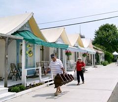 Tent Houses Ocean Grove NJ (holiday_jenny) Tags: park sea vintage spring nj historic og asbury antiques jerseyshore fleamarket oceangrove 2016 tenthouses