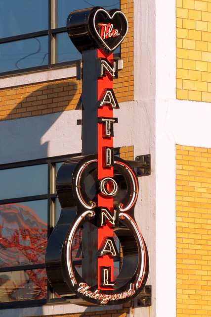 The National Underground neon sign - Nashville