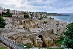 Anfiteatro Romano de Tarragona. (Howard P. Kepa) Tags: mar catalua tarragona anfiteatro arteromano sigloi