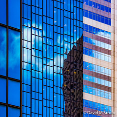 IDS Reflections (David M Strom) Tags: lines skyscraper olympusomdem5 shapes minneapolis reflections architecture davidstrom abstract minimal idscenter