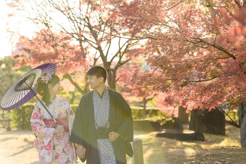 京都婚紗和服,日本婚紗,京都婚紗,京都楓葉婚紗,海外婚紗,和服拍攝,和服體驗,楓葉婚紗,DSC_0091