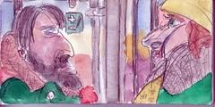 wrde der Winter berraschungen bringen oder sollten sie immer weiter machen (raumoberbayern) Tags: auto city pink winter dog bus fall smart car pencil paper munich mnchen landscape herbst tram sketchbook hund stadt papier landschaft bleistift robbbilder skizzenbuch strasenbahn