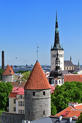 Tallinn, Estonia (KWaterhouse) Tags: tallin estonia overlook walledcity vista nikond5300