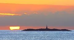 Solstice: The longest day (Arnt Kvinnesland) Tags: sunset lighthouse seascape nature june juni outdoor solnedgang summersolstice kyst karmy krehamn kystlandskap sommersolverv svortingen