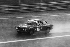 Alfa Romeo Historic GP (Federico Zimbaldi) Tags: monza gp circuit rain wet race historic car old speed sport motors alfa romeo ferrari nikon black white federico zimbaldi d610 sigma 120400
