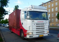 Scania AU91922 recent respray + new plates (sms88aec) Tags: scania au91922 recent respray new plates
